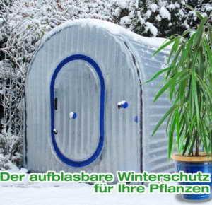 Aufblasbares Thermo-Gewächshaus für den Winter
