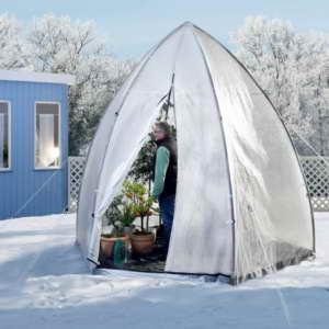 Bio Green Foliengewächshaus Winterschutz