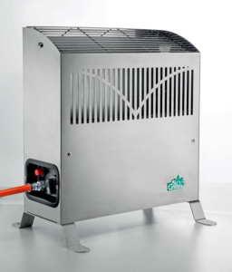 Gewächshausheizung Frostwächter Bio Green Gasheizung Frosty 4500 W, Silber