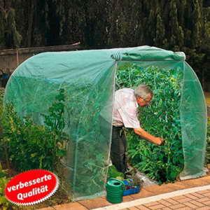 Gärtner Pötschke Tomatenhaus Foliengewächshaus