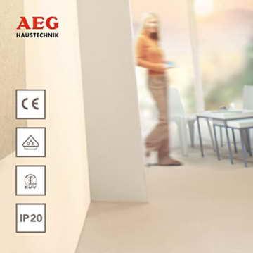 AEG Frostwächter FW 505, 500 W, für Hobbyraum, Werkraum, Wintergarten, 220995 - 2