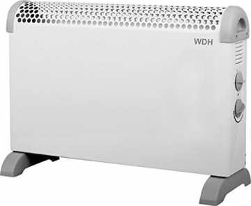 Aktobis Frostwächter, Standkonvektor WDH-CH11 (1.800 Watt, Zwei Heizstärken, inkl. Füße und Wandhalterung) - 1