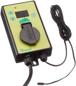 Bio Green Digital-Thermostat einfache Regelung, grün - 1