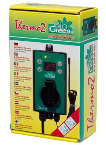 Bio Green Digital-Thermostat, grün - 1