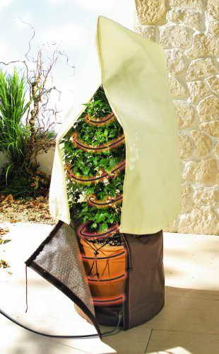 Bio Green Frostschutz-Heizkabel, schwarz, 8 m, 80 Watt - 2