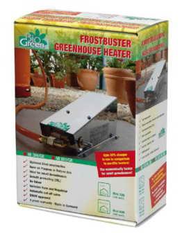 Bio Green Gasheizung Frostwächter Mini 800 W, Silber - 1