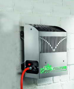 Bio Green Gasheizung Frosty 2500 W, Silber - 3