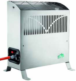 Bio Green Gasheizung Frosty 2500 W, Silber - 1