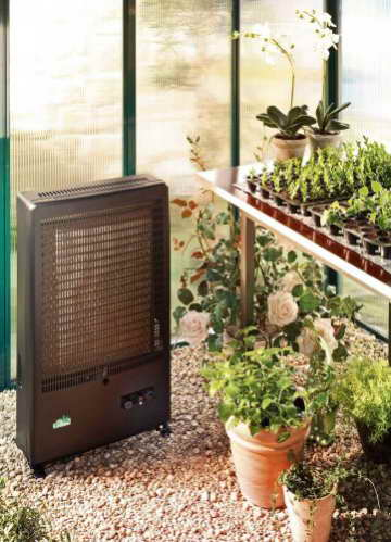 Bio Green Gasheizung Katalytheizung, schwarz, 4000 A - 2