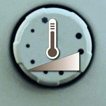 Einhell Frostwächter FW 400/1 (400 Watt, stufenloses Thermostat, Wandgerät, Frostschutz) - 2