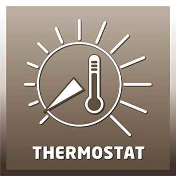 Einhell Frostwächter FW 400/1 (400 Watt, stufenloses Thermostat, Wandgerät, Frostschutz) - 4