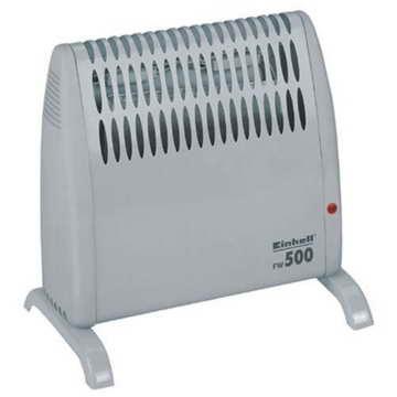 Einhell Frostwächter FW 500 (500 Watt, Mica Heizelement, stufenloses Thermostat, Stand- oder Wandgerät, Frostschutz) - 1