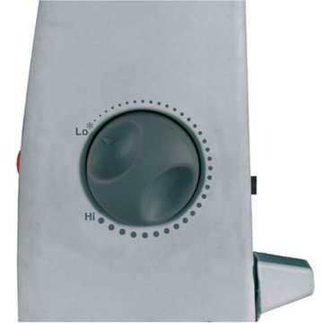 Einhell Frostwächter FW 500 (500 Watt, Mica Heizelement, stufenloses Thermostat, Stand- oder Wandgerät, Frostschutz) - 2