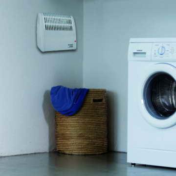 Einhell Frostwächter FW 500 (500 Watt, Mica Heizelement, stufenloses Thermostat, Stand- oder Wandgerät, Frostschutz) - 5