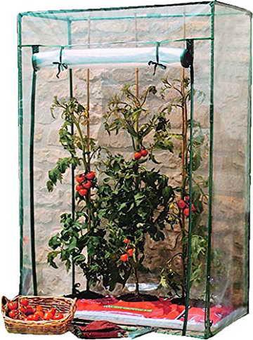 Ganz und zu Extrem Tomatengewächshaus Foliengewächshaus Mini-Gewächshaus Treibhaus @VO_26