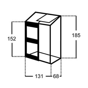 Gewächshaus Juliana Altan 2 0,91m² Alu / 4mm Stegdoppenplatten - 2