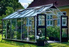 Juliana Gewächshaus Premium 13.0 Alu Blankglas - 1