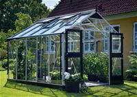 Juliana Gewächshaus Premium 10,9 m², Blankglas 3 mm - 1