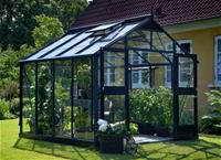 Juliana Gewächshaus Premium 8.8 anthrazit Blankglas - 1