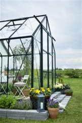 Juliana Halls Gewächshaus Magnum grün 128 9,9 m² 3 mm Blankglas - 1