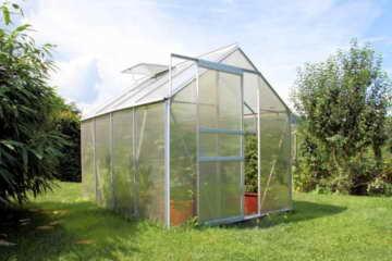 Zelsius - 4,75m² Aluminium Gewächshaus, Garten Treibhaus, 6 mm Hohlkammerstegplatten, inkl. Stahl-Fundament-Rahmen - 2