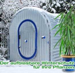 Aufblasbares Gewächshaus WinterSafe M 150x150x170cm -