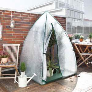 Bio Green Überwinterungszelt, Igloo, klarsicht, 120 x 120 x 180 cm, IGL -