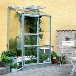 Gewächshaus Juliana Altan 2 0,91m² Alu / 3mm Blankglas -