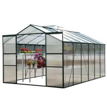 Outsunny® Alu Gewächshaus Treibhaus Frühbeet Tomatengewächshaus 6,25 m² - 9,28 m², 4 Größen 2 Typen NEU (XL ohne Stahlfundament) -