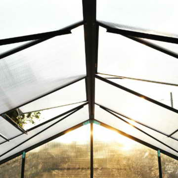 Outsunny® Alu Gewächshaus Treibhaus Frühbeet Tomatengewächshaus 6,25 m² - 9,28 m², 4 Größen 2 Typen NEU (S ohne Stahlfundament) -