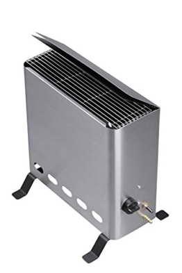 Tepro Gewächshausheizer mit Thermostat Gasheizgerät, 4,2 kW, Silber -