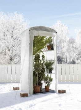 Bio Green Winterschutz Isolierhülle für Patioflora, weiß -