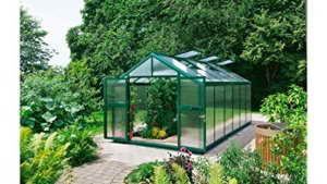 BECKMANN Gewächshaus Allplanta 6 GE, BxT: 300x409 cm, grün grün -