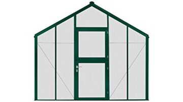 BECKMANN Gewächshaus Allplanta 8 GE, BxT: 300x606 cm, grün grün -