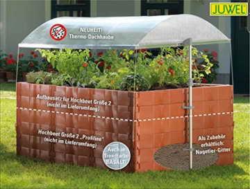 """JUWEL 20114 Thermo-Dachhaube für Hochbeet Größe 2 """"Profiline"""" -"""