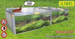 JUWEL 20148 Frühbeet Beetsystem Biostar Protect 2000 Maße 200,5x76,5x52/44cm -