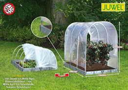 """JUWEL 20550 Tomaten Schutzhaus oder Frühbeet """"2 in 1"""" basalt Tomatenhaus 190x121cm Höhe 165/80cm -"""
