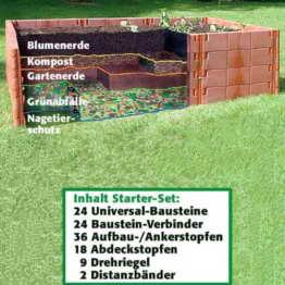 Juwel Hochbeet Starter-Set, 1 Stück -